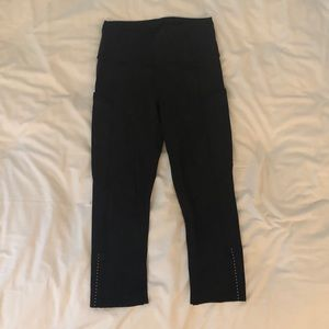 Lululemon Fast & Free High-Rise Crop Leggings